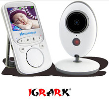 VB605 bezprzewodowy elektroniczna niania elektroniczny 2.4 Cal kolorowa kamera bezpieczeństwa 2 Way dyskusja Night Vision LED przenośne monitory dla dzieci