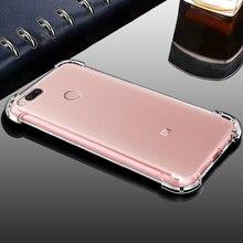 YUETUO роскошный tpu телефон задняя крышка etui, coque, чехол, чехол для xiaomi mi 5x mi 5x mi a1 mi a1 mi 5×5 a 1 силиконовые аксессуары