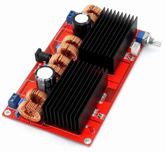 High qualityTDA7498 Amplifier board DC32v 2.0 channel class D Parallel TDA7498 amplifier board 200W+200W better than TA2024 lcd32b66 l frequency board amplifier board 40 l2726a nid2x