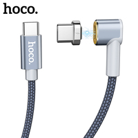 HOCO USB Type c to Type-c cable 4A 87W USB-c PD Fast Charging Cable For Macbook Samsung S9 Data sync magnetic usb Charger cable