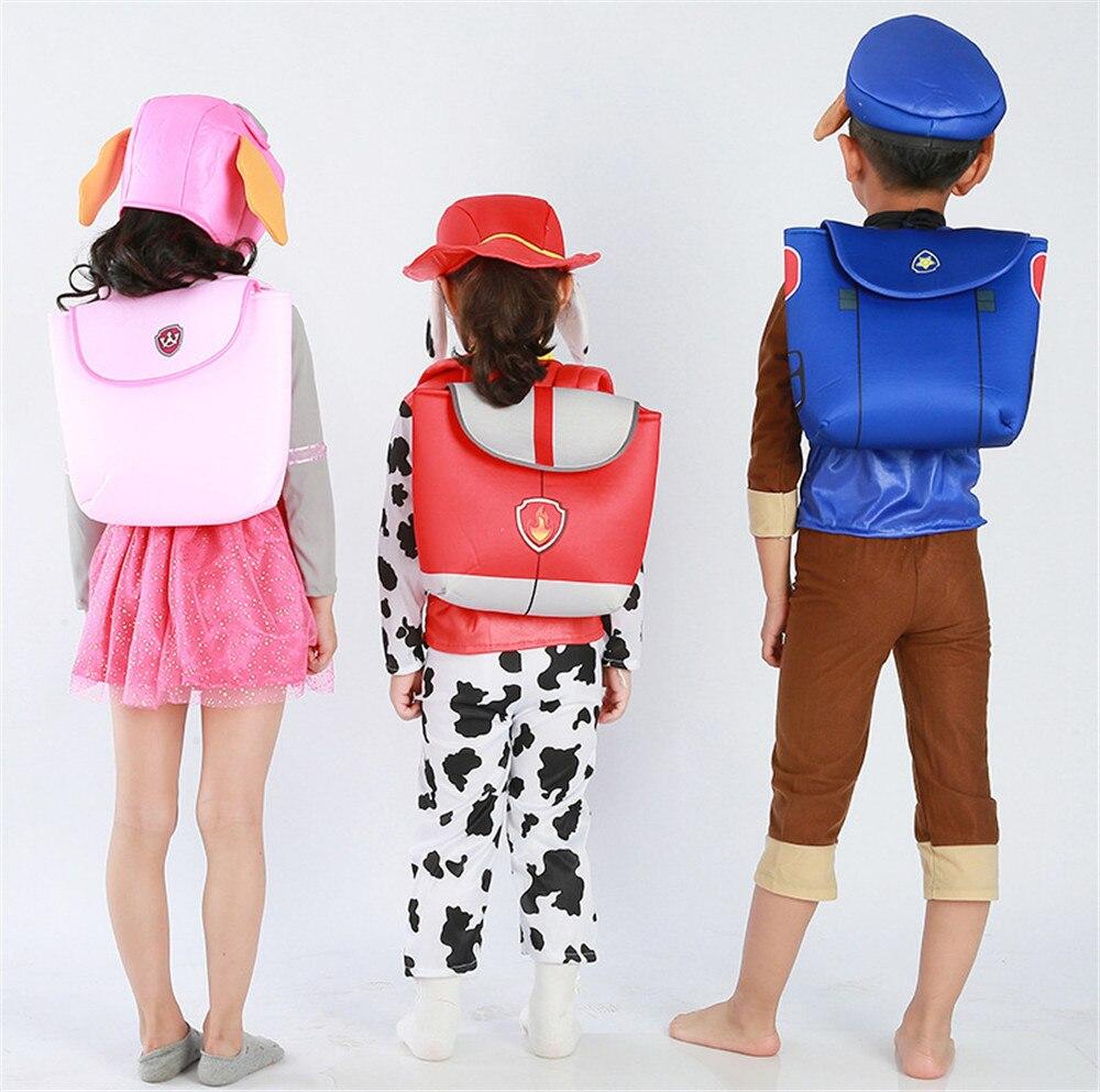 Haute qualité parti cosplay enfants kid patrouille chien costume de mascotte de bande dessinée skye chase Marshall costume vêtements pour garçons/filles