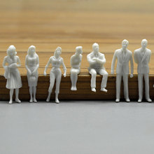 цена на 1:50 scale model  miniature white figures Architectural model human scale HO model ABS plastic peoples