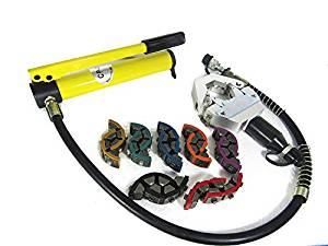 Hydraulic Hose Crimper Hydra-Krimp 7842B Manual A/C Hose Crimper Kit Air Condtioning Repair Handheld Hose Crimping tool