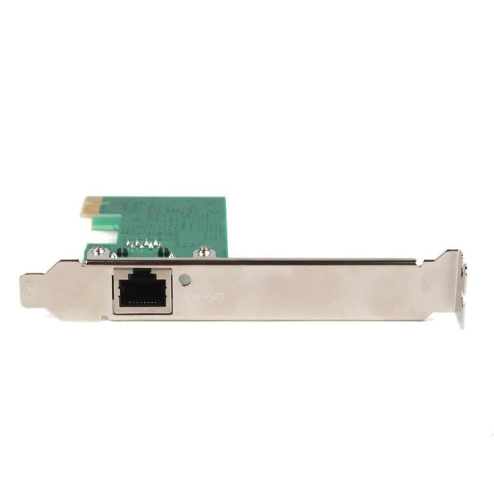 PCI-E 10/100/1000 Jaringan Gigabit Ethernet Express Card 265342