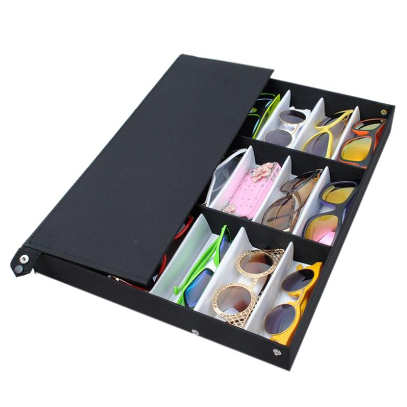 a6c75d518 18Pcs Glasses Storage Display Case Box Eyeglass Sunglasses Optical ...