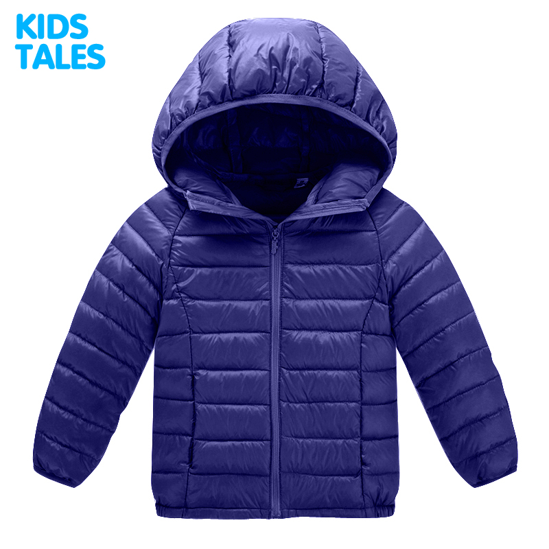 Baby Boys Girls Winter Jacket 2017 Brand Duck Down Hooded Warm Coat Toddler Solid Windproof Outerwear for Kids Boys Clothing