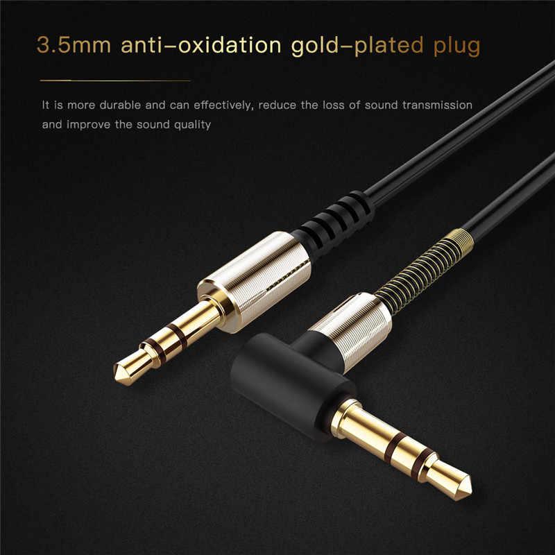 Robotsky 3,5 мм аудио кабель 1 м нейлоновая оплетка автомобильный усилитель Aux шнур для автомобиля телефон гарнитура для планшета громче аудио удлинитель