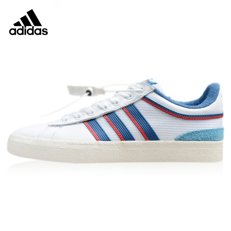 Adidas Campus VULC X Alltimers Women's Walking Shoes ,White & Blue,Wear-resistant Breathable Non-slip CG5128 цены онлайн