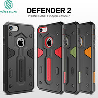 For IPhone 7 Case IPhone 8 Shockproof Armour Case NILLKIN Defender 2 Shield Back Cover Tough