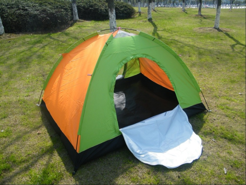 Oxford simple tents two people outdoor c&ing picnic beach tent easy taking ultra light portable travelling hiking tent-in Tents from Sports ... & Oxford simple tents two people outdoor camping picnic beach tent ...