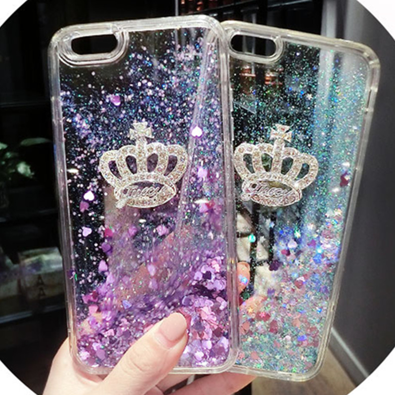 For Samsung J3 (2016) (2015) Case Quicksand Dynamic Liquid Glitter Sand Silicone Rhinestone Phone Cover For Samsung J320 J3 Plus