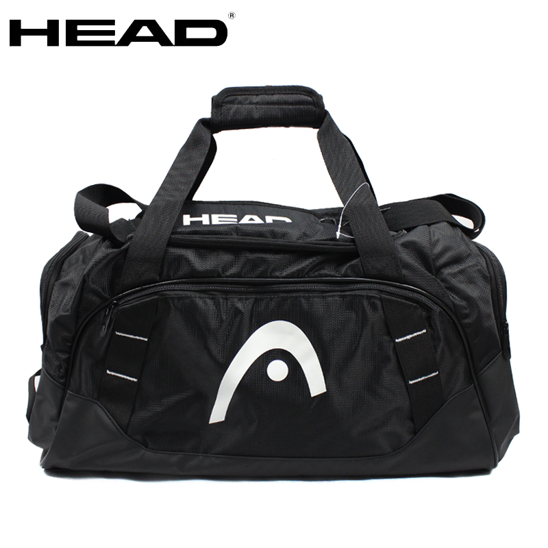 Careful 2019 New Head Tennis Bag Basketball Bag Body-building Clothes Bag Black Color With Shoes Bag Up-To-Date Styling