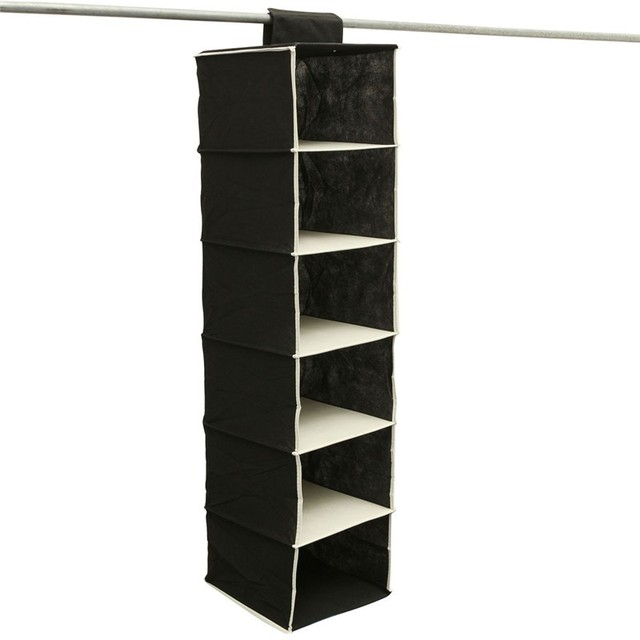 Exceptional 2 Color Shoe Clothes Hanging Bag Organizer Rack Storage Save Place Wardrobe  Closet Hangers Home Keeper