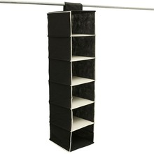 2 Color Shoe Clothes Hanging Bag Organizer Rack Storage Save Place Wardrobe Closet Hangers Home Keeper Essential