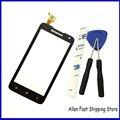 Оригинальный Новый 4.5 Дюймов Черный Мобильный Телефон С Сенсорным Экраном Для Lenovo A526 Дигитайзер Датчик Стекло Сенсорная Панель + Бесплатные Инструменты