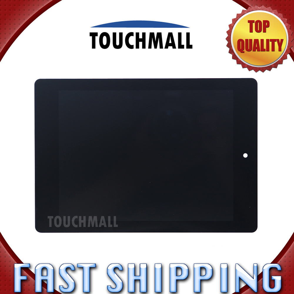 For New LCD Display Touch Screen Assembly Replacement Acer iconia Tab A1-810 A1 810 A1-811 A1 811 7.9-inch Black Free Shipping for acer iconia tab a1 a1 810 a1 811 a1 810 tablet pc touch screen panel digitizer glass lens sensor repair parts replacement