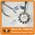 LONCIN CG150 CG200 150cc 200cc Engine DC Type Magneto Stator Rotor 11 Coils Fit ATV Motorcycle Dirt Pit Bike Free Shipping