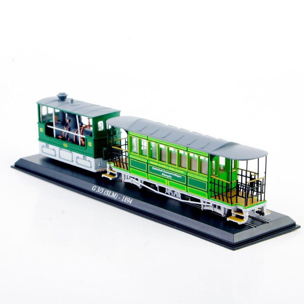 1: 87 Modelo de Tranvía Juguetes Cepa Modelo Juguetes Escala 1/87G 33 (SLM)-1894