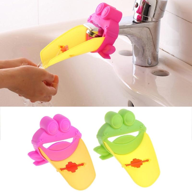 Kid Bathroom Children Hand Wash Tools Sh