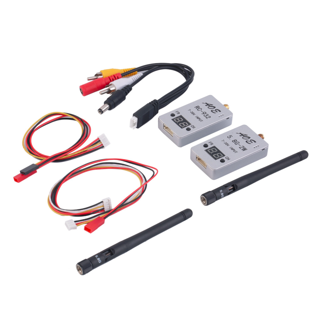 Baby Toys TS933 5.8G 32CH FPV Wireless AV Transmitter+RC932 Receiver for RC Multicopter New Sale