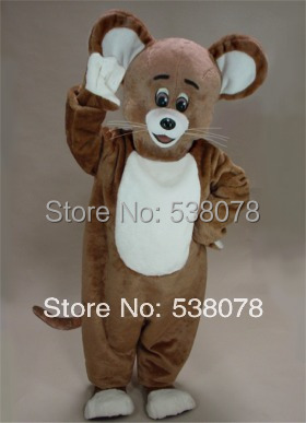 Brown Mouse Mascot Costume Adult Size Cartoon Character Animal Carnival Party Cosply Mascotte Mascota Fit Suit & Brown Mouse Mascot Costume Adult Size Cartoon Character Animal ...