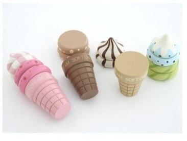 Houten Speelgoed Keuken : Stk partij willekeurig kleur baby houten speelgoed simulatie