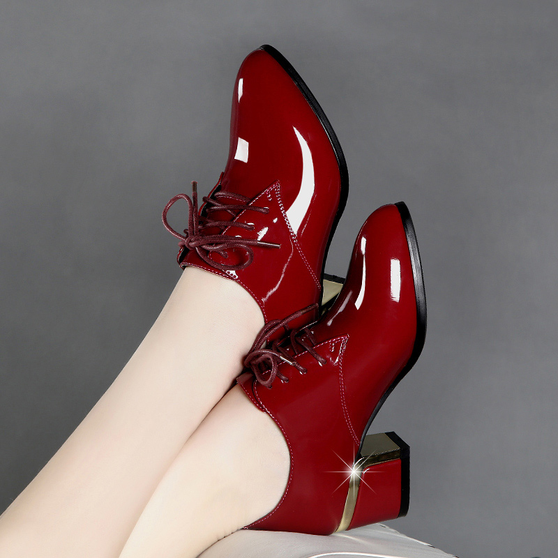 top 10 leather shoes women heel brands and get free shipping