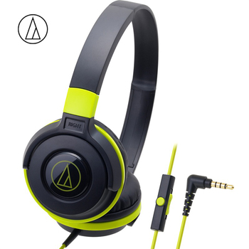 Original Audio Technica ATH-S100iS Game Headphone Head-mounted With Wired Control With Wheat Bass Music Earphone