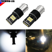 Super Bright 15 SMD 3030 1156 P21W 7506 LED Replacement Bulbs For Backup Reverse Lights Or