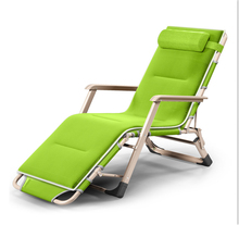 Dual Purpose Soft Sun Rest Lounger Thicken Cushion Folding Chair Office Leisure Lying Bed Single Bed