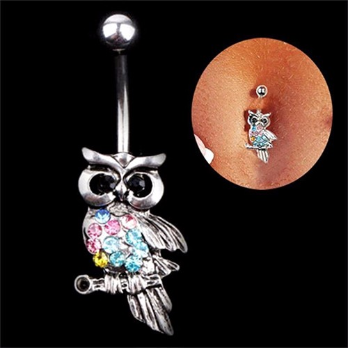 HTB1pmv8OpXXXXbvXVXXq6xXFXXXP Chic Rhinestone Inlaid Drop Dangle Navel Ring Jewelry For Women - in 9 Styles