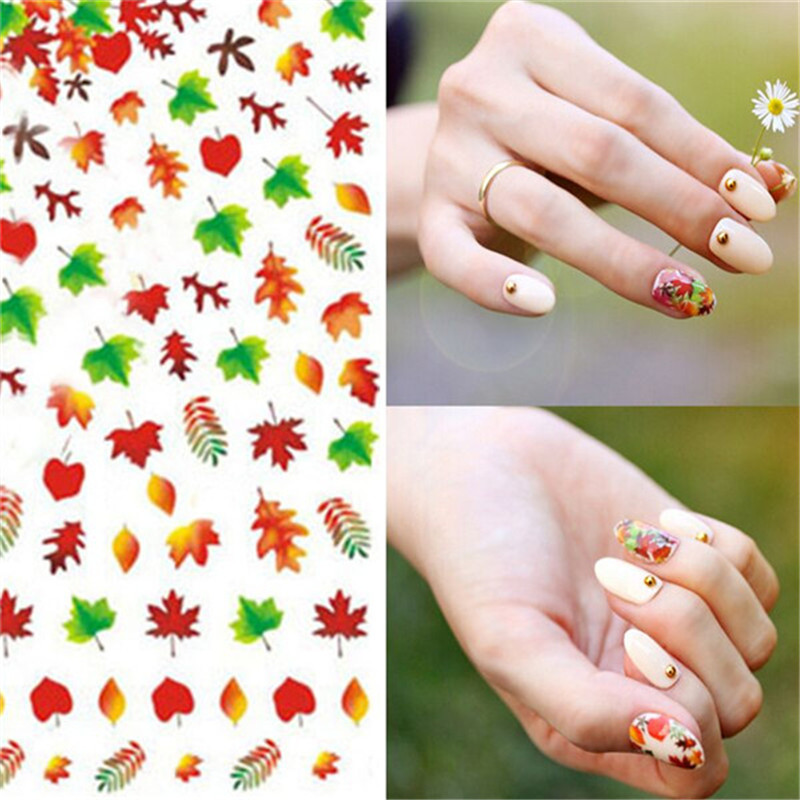 3D DIY RED Green Maple leaf Canada Autumn Fall fairground Rose ...