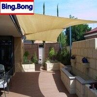 European Freeshipping sun shade sail HDPE 4m*6m shade net lona para toldo canopy outdoor pergola gazebo garden cover awning