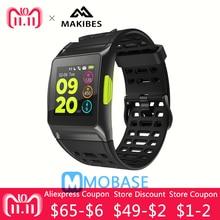 Купить с кэшбэком Makibes BR1 GPS SPORTS Watch Smart Watch Bluetooth Strava Color Screen Multisport Wristwatch Men Women Fitness Watch Smartwatch