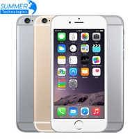 Original desbloqueado Apple iPhone 6 teléfono celular IOS Dual Core LTE 4,7 IPS 1GB RAM 16/64/128GB ROM de teléfonos móviles