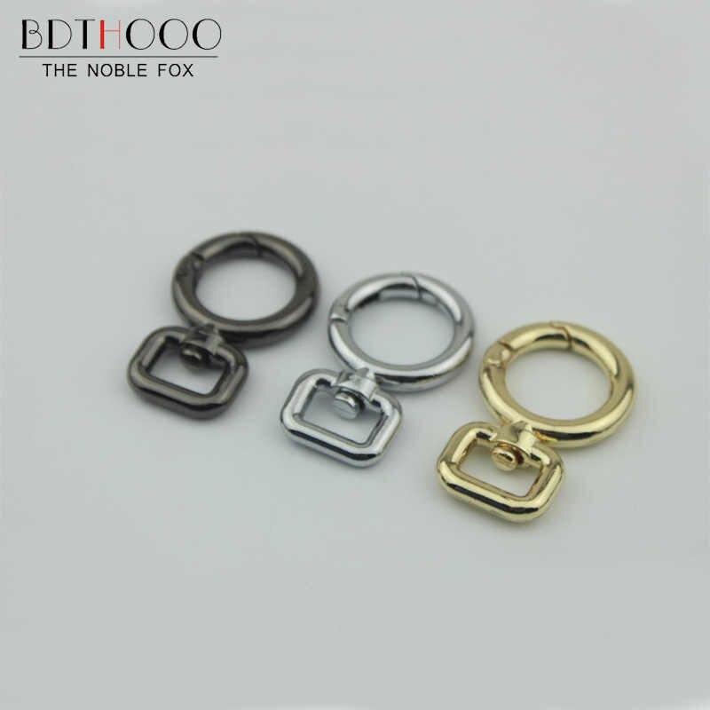 BDTHOOO 10 шт. металлический поворотный крюк с защелкой застежка DIY сумка застежка Крюк 1,2 см открытая катушка адаптер для часов кольцо для ключей с сумочкой оборудование