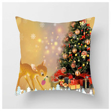 Christmas Decor For Home New Year Navidad Christmas Ornaments  Home Decoration Accessories Factory Outlet Cushion Cushion Cover