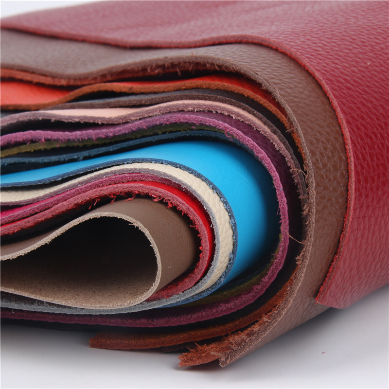 Frst layer cowhide leather thick genuine leather good for leather carving cowhide leather lots color choice image