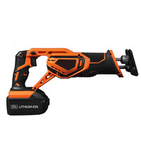 20V 3000mAh Rechargeable Reciprocating Saw Wood Cutting Saw Electric Wood Metal Plastic Saw