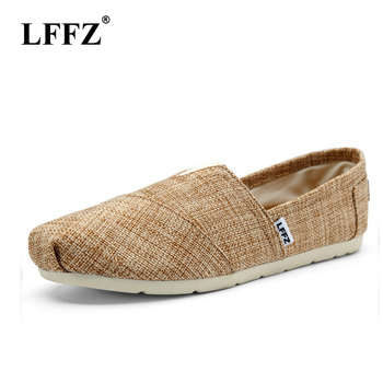 2f4d214f29f LFFZ de los hombres de la moda zapatos de lona amantes Zapatos mocasines  alpargatas de hombres barato alpargata casuales de zapatos zapatillas de  deporte ...