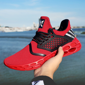 Men's Running Shoes Professional Outdoor Breathable Comfortable Fitness Shock absorption Trainer Sport Gym Sneaker 2019 Hot Sell Running Shoes     -