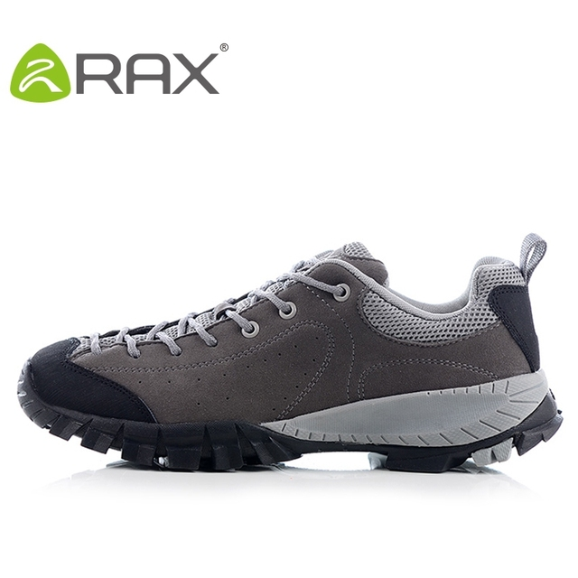 Rax Genuine Leather Shoes Men Outdoor Shoes Breathable Men Casual Shoes On Slip Damping Leisure Shoes A342