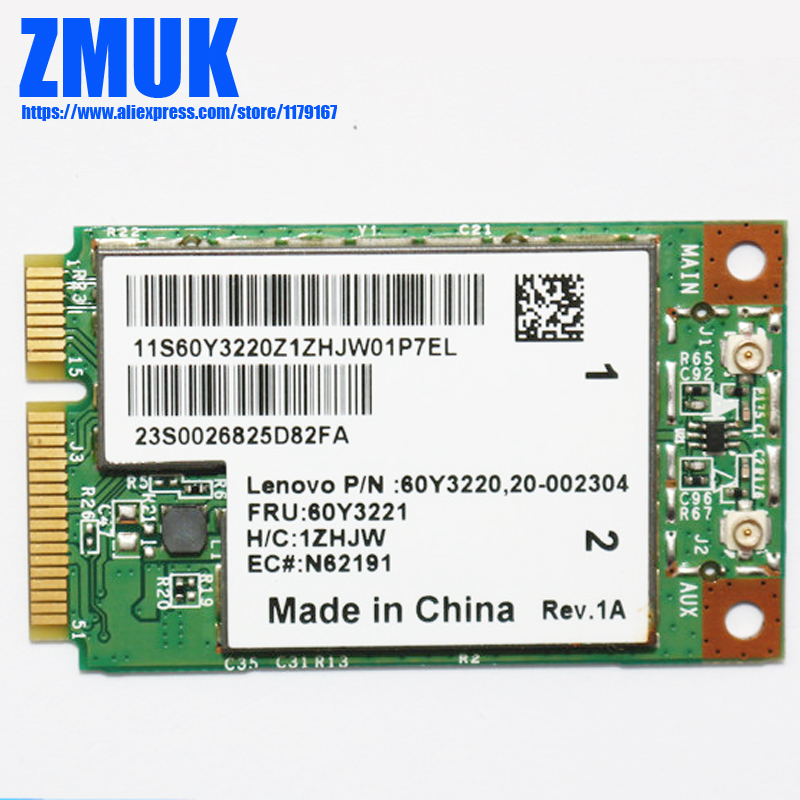 BCM94312MCG 802.11B/G WiFi Adapter For Lenovo Ideapad S10 Series,FRU 60Y3221 20002303(China)