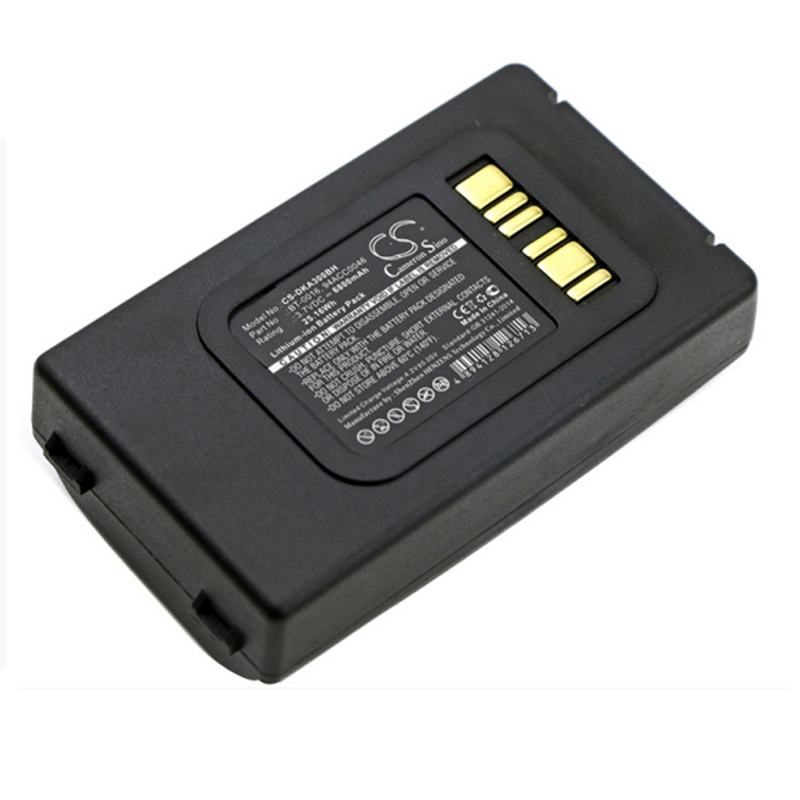 6800mAh 3 7V 94ACC0046 BT 0016 Li Ion Battery For Datalogic Skorpio X3 Barcode Scanner Rechargeable