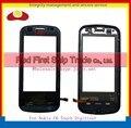 """Высокое Качество 3.2 """"для Nokia C6 C6-00 Touch Screen Digitizer Датчик Передняя Панель Стеклянный Объектив С Рамкой Черный Белый + Код Отслеживания"""