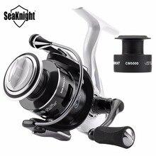 Seaknight CM II Fishing Reel  4000 5000 Spinning Reel 5.5:1 7KG 13KG Max Drag Carp Fishing Reel With Free Spare Spool