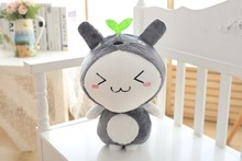 new plush Transfiguration Totoro toy small size Triangle eyes totoro doll gift about 45cm