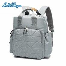 SeckinDogan Diaper Bag Multi-functional Travel Baby Diaper Backpack Waterproof Oxford Cloth Backpack for Moms New Mummy Bag