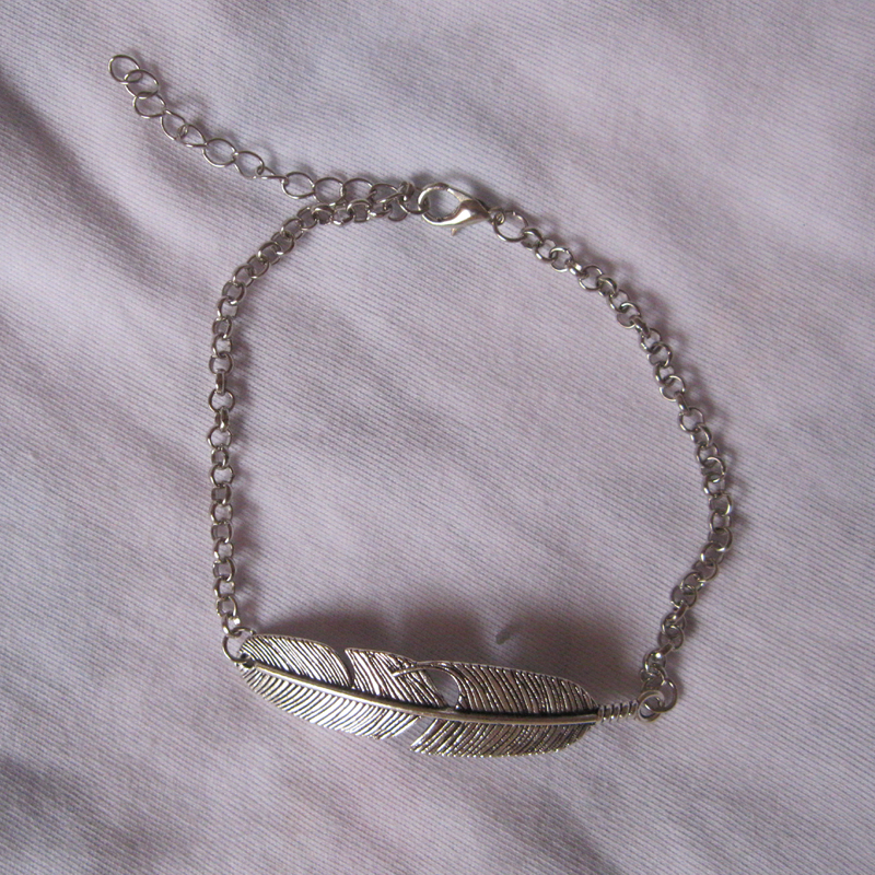 front products cropped pennsylvania by grey mma feather l boutique anklet silver image shoptiques from