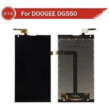 Original Para DOOGEE DG550 Pantalla LCD con Pantalla Táctil Digitalizador Asamblea Envío Gratis